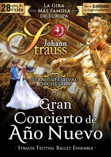 JOHANN STRAUSS - GRAN CONCIERTO AÑO NUEVO. 21:00