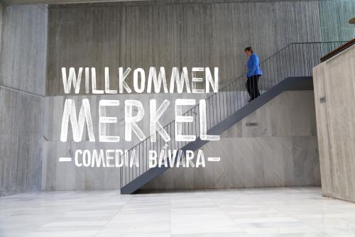 Willkommen Merkel