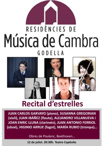 MÚSICA DE CAMBRA - RECITAL D´ESTRELLES