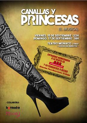 Canallas y princesas. El musical