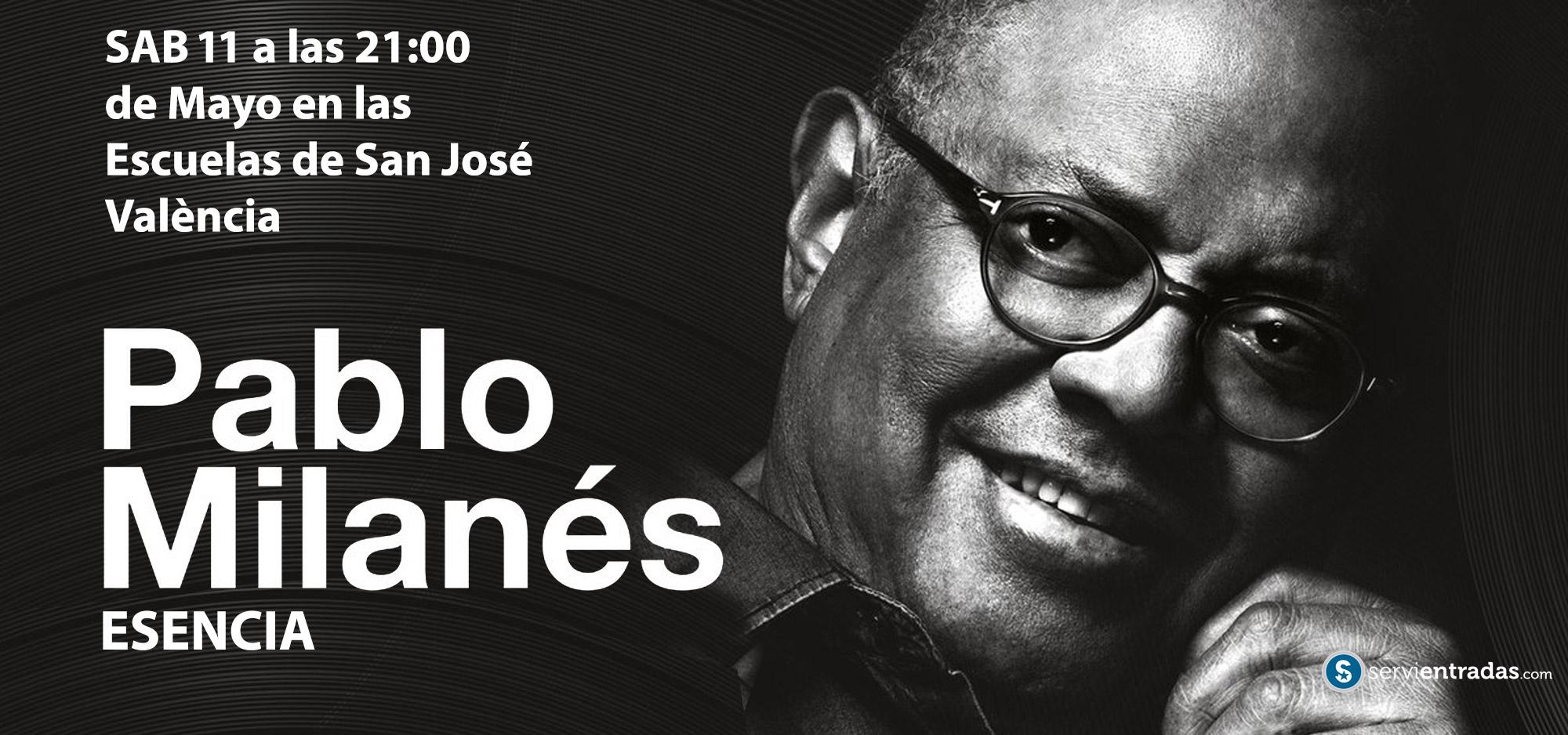 Pablo Milanes en Valencia