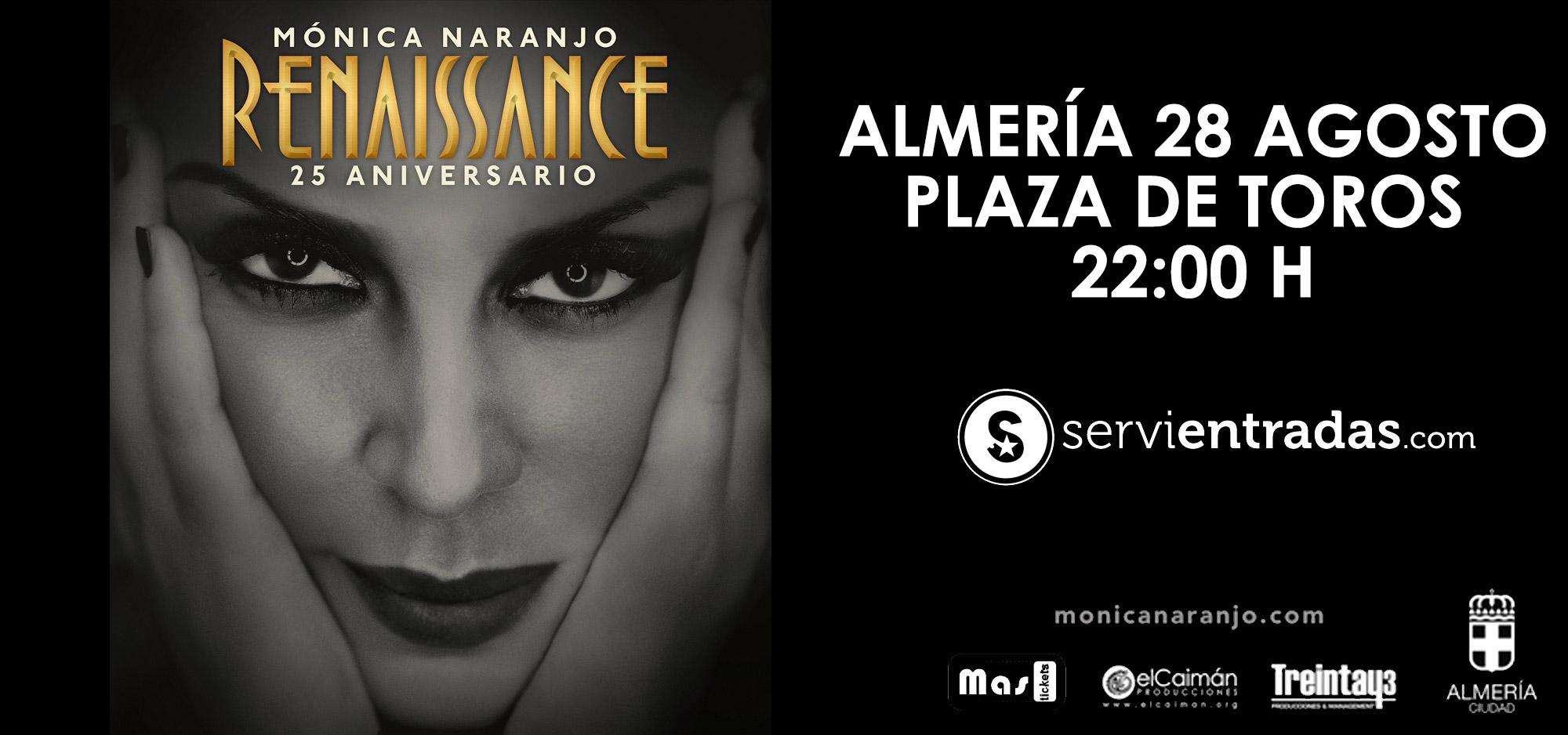 Monica Naranjo en Almería