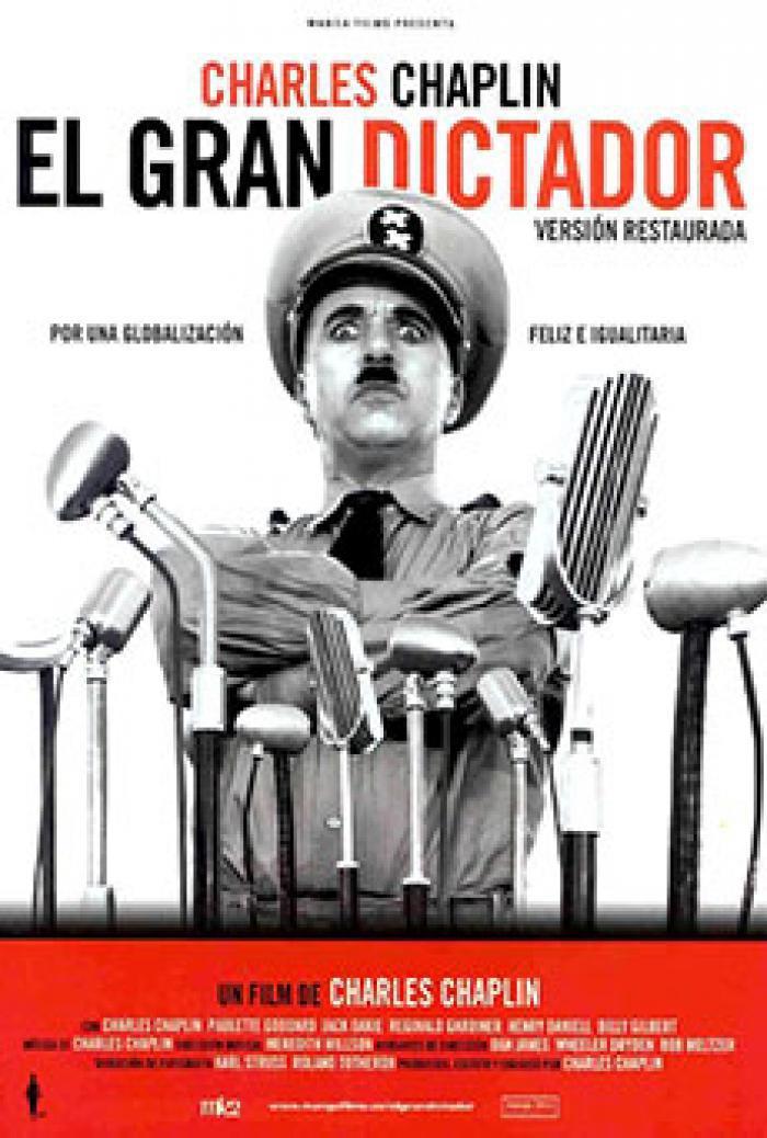 El gran dictador (V.E.) Versión restaurada 35mm
