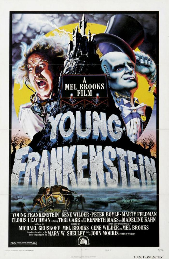 El jovencito Frankenstein (V.E.) 35mm