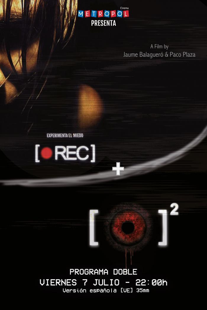 NOCHE ZOMBI. Programa doble REC + REC 2 en 35mm