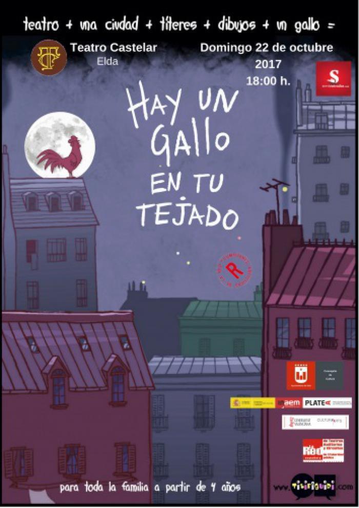 HAY UN GALLO EN TU TEJADO