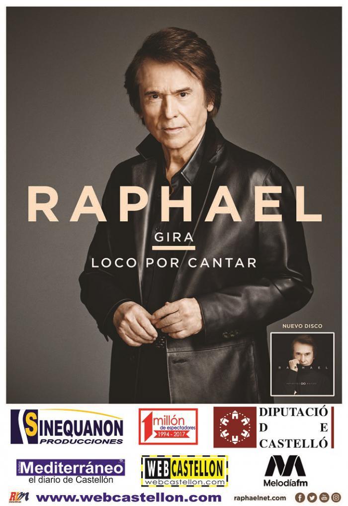 RAPHAEL- Gira Loco por cantar - Benicasim