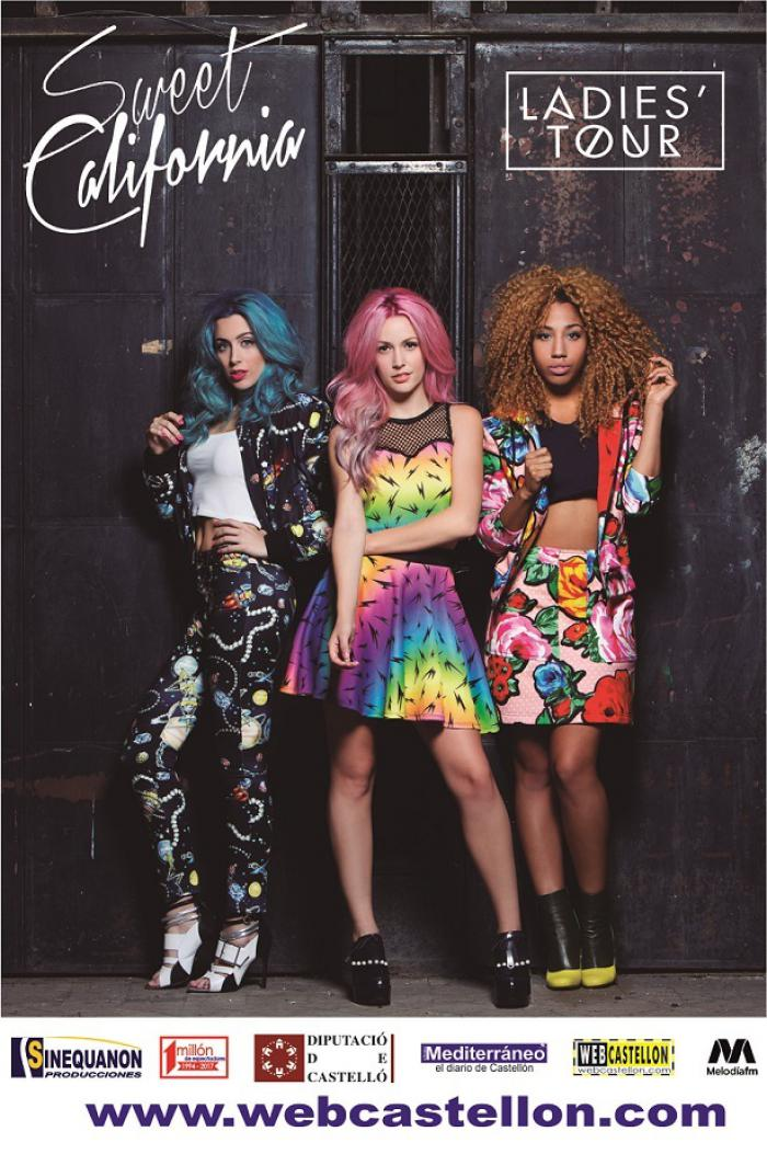 Sweet California Gira Ladies Tour en Benicasim.