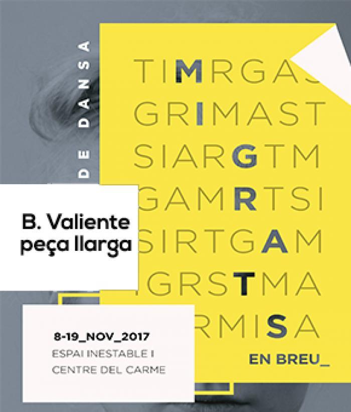 Migrats (en breu) III_The space of artist_B. Valie