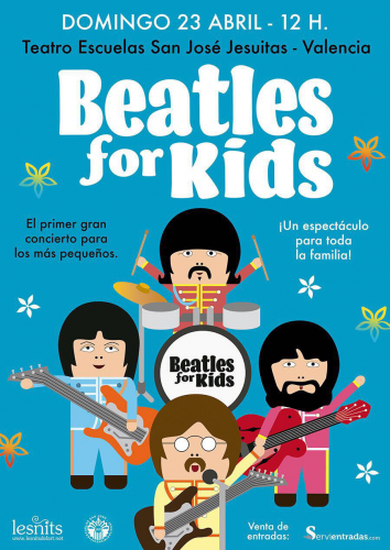 Beatles For Kids abril