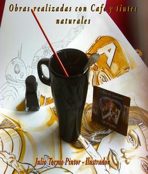 Exposición Caffe Arts Creations de Julio Tormo