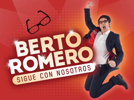 BERTO ROMERO - SIGUE CON NOSOTROS - PETRER