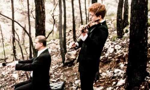 JACOBO CHRISTENSEN,violín / CARLOS APELLÁNIZ,piano