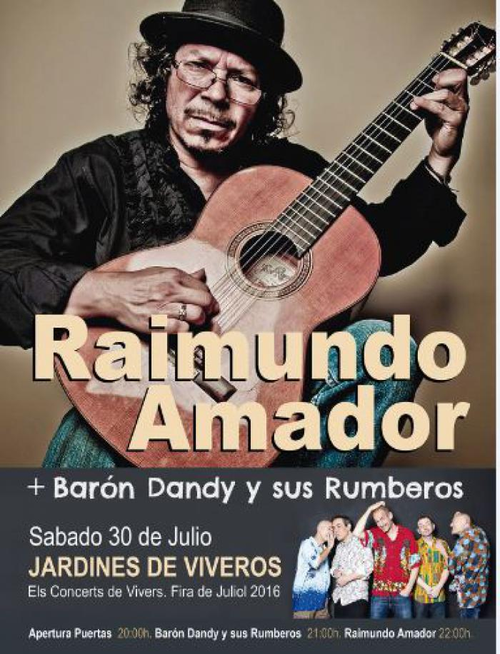 RAIMUNDO AMADOR ELECTRIC BAND y BARON DANDY  Y SUS RUMBEROS
