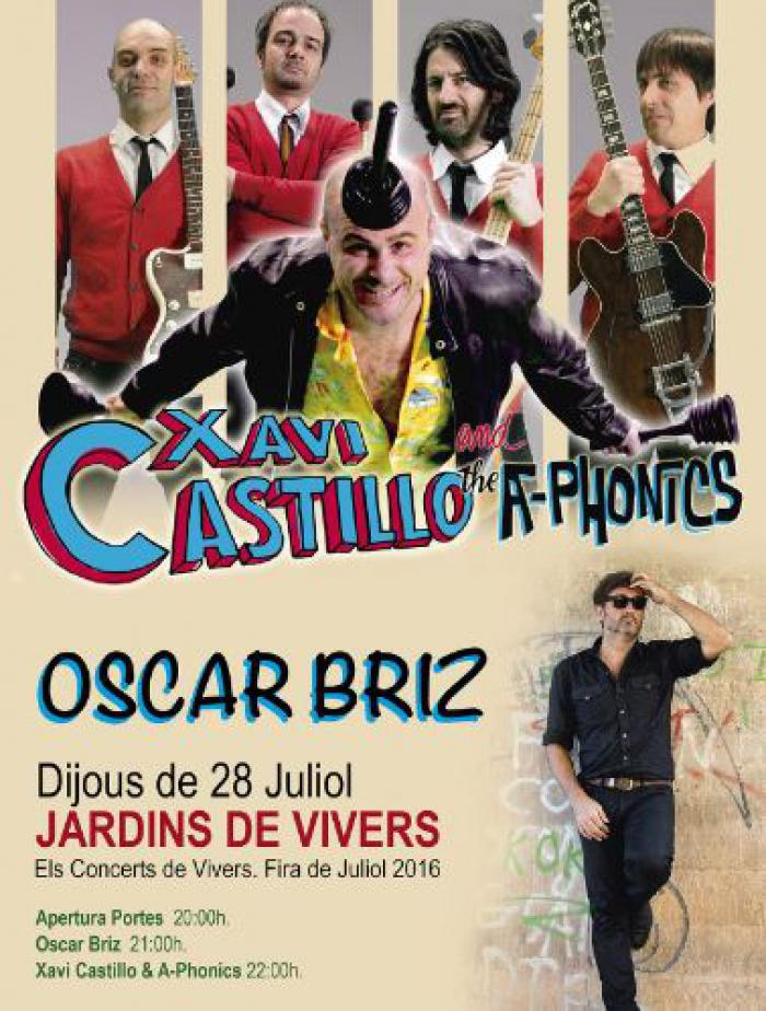 XAVI CASTILLO AND THE A-PHONICS - VALENCIA