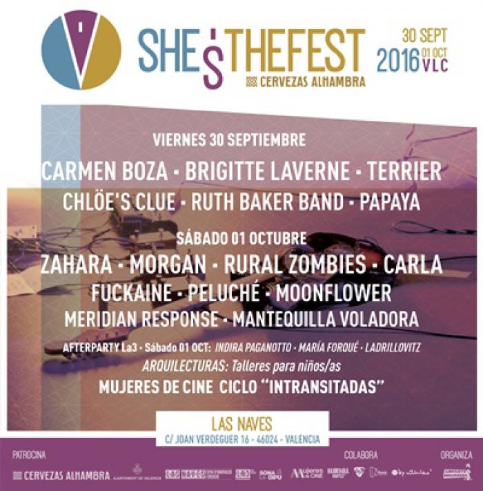 SHE�S THE FEST 2016